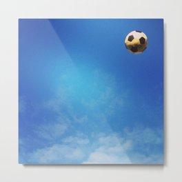 Football and Blue Sky Metal Print
