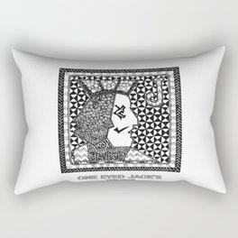 Twin Peaks - One Eyed Jack's Rectangular Pillow