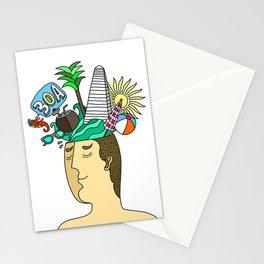 30A on My Mind Stationery Cards