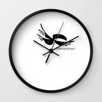 toucan Wall Clocks featuring Toucan by rob art | patterns
