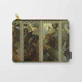 """Alphonse Mucha """"The Moon and the Stars Series"""" Carry-All Pouch"""