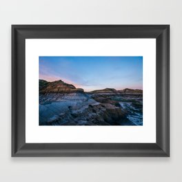 The Badlands - Montana Framed Art Print