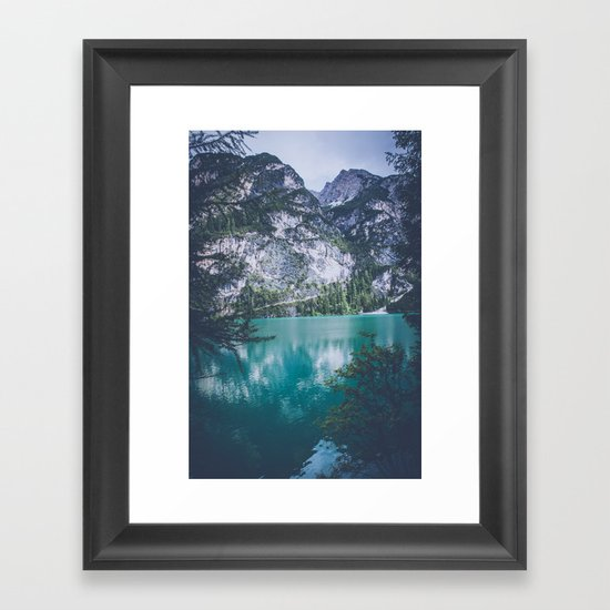 Peer Through Framed Art Print