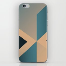 A Certain Shade of Blue iPhone Skin