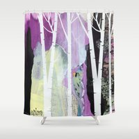 explore Shower Curtains featuring Explore by E.Seefried Art