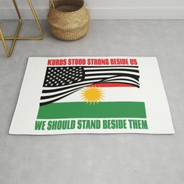 The Kurds Supported Us Rug