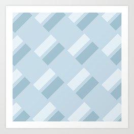 Neapolitan Blue Art Print