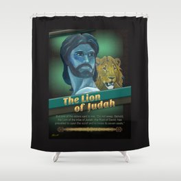 The Lion Of Judah 1 Shower Curtain