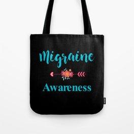 Migraine Headache Pain Awareness Tote Bag