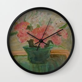 Spring Layers Wall Clock