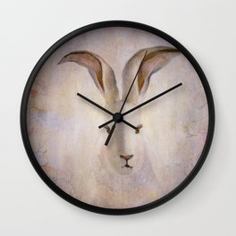 Madame Rabbit Wall Clock