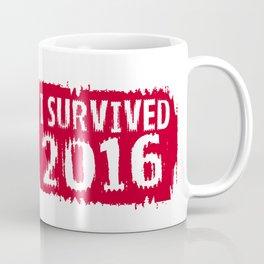 I survived 2016 Coffee Mug