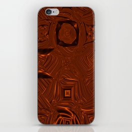 Abstract Art- Brown Art- Sacred Geometry Art- Mom From the Lotus iPhone Skin
