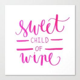 Sweet Child Of Wine Canvas Print
