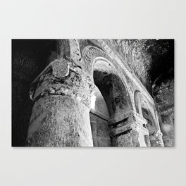 Turkish Arch B&W Canvas Print