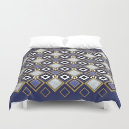 Purple Jade Duvet Cover