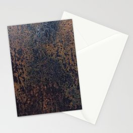 Rusting steel texture Stationery Cards