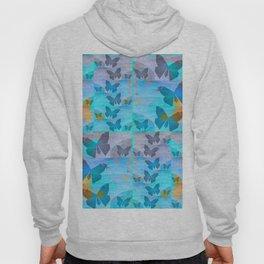 Simple Butterfly Geometric Print Hoody