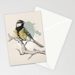 Chickadee bird Stationery Cards