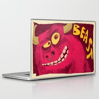 beast Laptop & iPad Skins featuring Beast by Steve Steiner