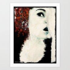 respiro_rosso Art Print