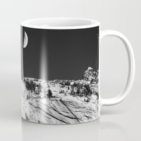 yosemite Mugs featuring Yosemite by Claude Gariepy