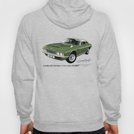 James Bond Aston Martin DBS from OHMSS Hoody