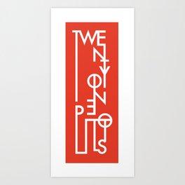 Twenty One Pilots Art Print