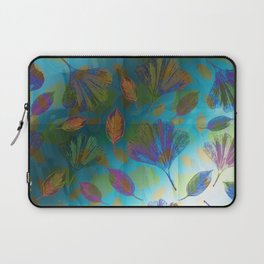 Ginkgo Leaves Under Water Laptop Sleeve