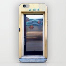 405 Sea Door iPhone Skin