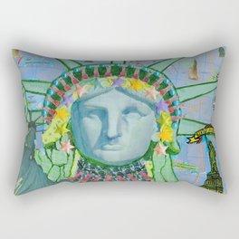 Statue of Liberty New York Rectangular Pillow