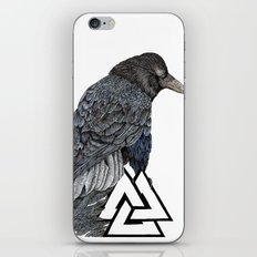 Muninn iPhone Skin