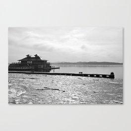 Burlington Pier Canvas Print