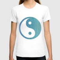 yin yang T-shirts featuring Yin Yang by shans