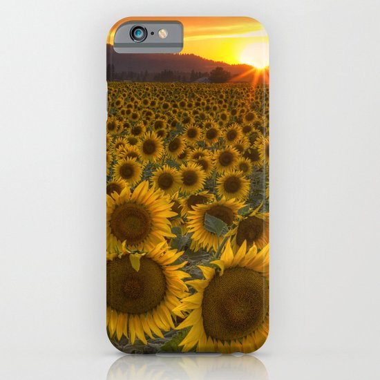 Sunshine and Happiness iPhone & iPod Case