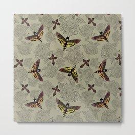 Sancti-Moths Metal Print