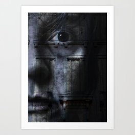 Self Portrait I Art Print