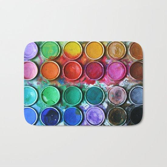 Paint box Bath Mat