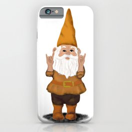 Hangin with my Gnomies - Devil' Horns / Rock On iPhone Case