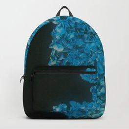 CC Rose Perfume Bottle Blue Backpack