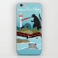 toddler iPhone & iPod Skins featuring YYCFlood by KeliGirl
