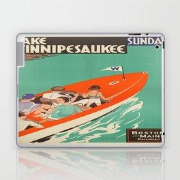 Vintage poster - Lake Winnipesaukee Laptop & iPad Skin