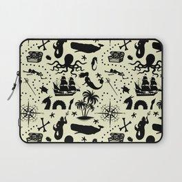 High Seas Adventure // Yellow Laptop Sleeve
