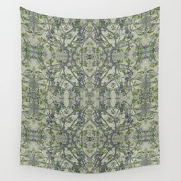 Modern Noveau Floral Pattern Wall Tapestry