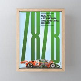 M 787B Tribute Framed Mini Art Print