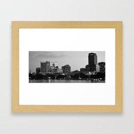 Downtown Orlando Framed Art Print