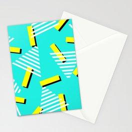 80's pattern Stationery Cards