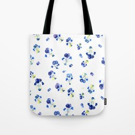 Blue touch Tote Bag