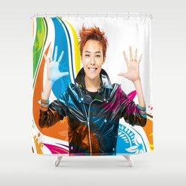 GD (GDRAGON) Shower Curtain