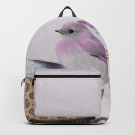 Bird in tea cup Backpack